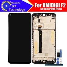 UMIDIGI F2 LCD 디스플레이 + 터치 스크린 디지타이저 UMIDIGI F2 + tools + Adhesive 용 100% 오리지널 테스트 LCD 스크린 유리 패널