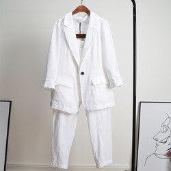 Новинка 2020, женский модный повседневный костюм большого размера, летний костюм из двух предметов