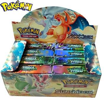 Hot Sell 2020 New Pokemon Card Premium Gift Box Cards English Version POKEMON 400 Pieces Children Gifts Spree