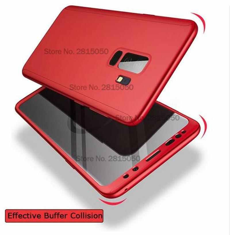 360 tam koruma kapağı samsung kılıfı Galaxy A70 A60 A50 A30 M20 A8 A6 J4 J6 artı A750 2018 S9 S8 S10 artı S7 kenar not 9 8