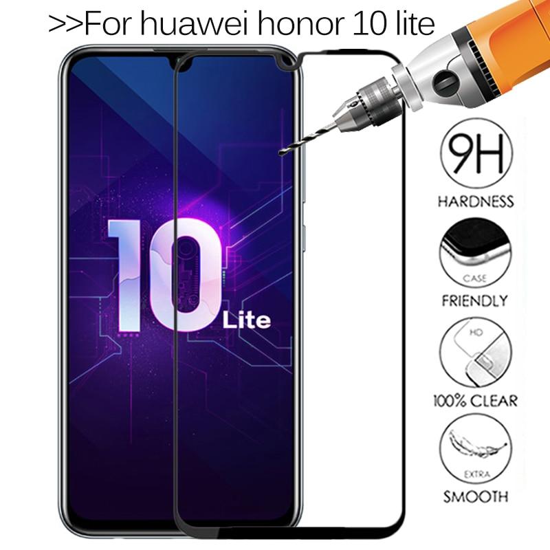 Original Tempered Glass on Honor 10 Lite Protective Glass For Huawei Honor 10 Light Honer Honor10i S