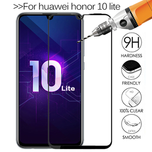 Original Tempered Glass on Honor 10 Lite Protective Glass For Huawei Honor 10 Light Honer Honor10i Safety Screen Protector Film