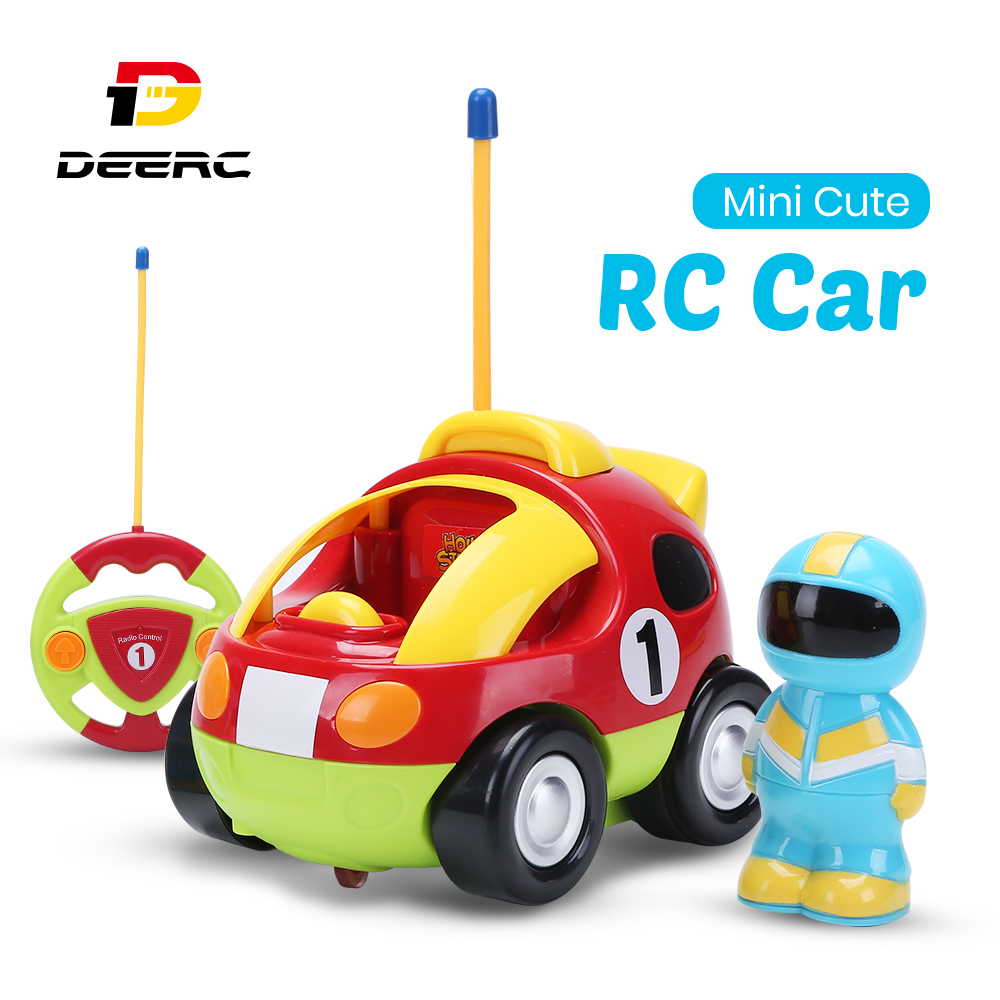Holy Stone RC <font><b>Car</b></font> with Music Lights Cartoon Race Electric Radio Remote Control <font><b>Car</b></font> Toys for Baby Boy Toddlers Kids & Children image