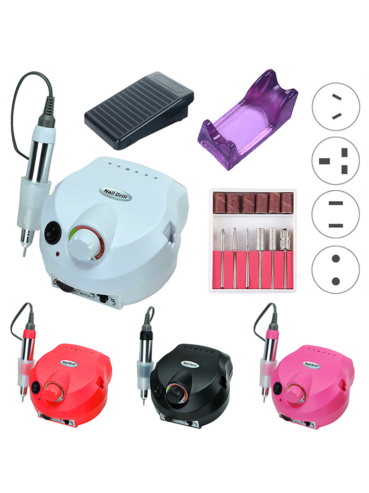 Electric-Nail-Drill-Machine Pedicure Nail-Salon 35000RPM