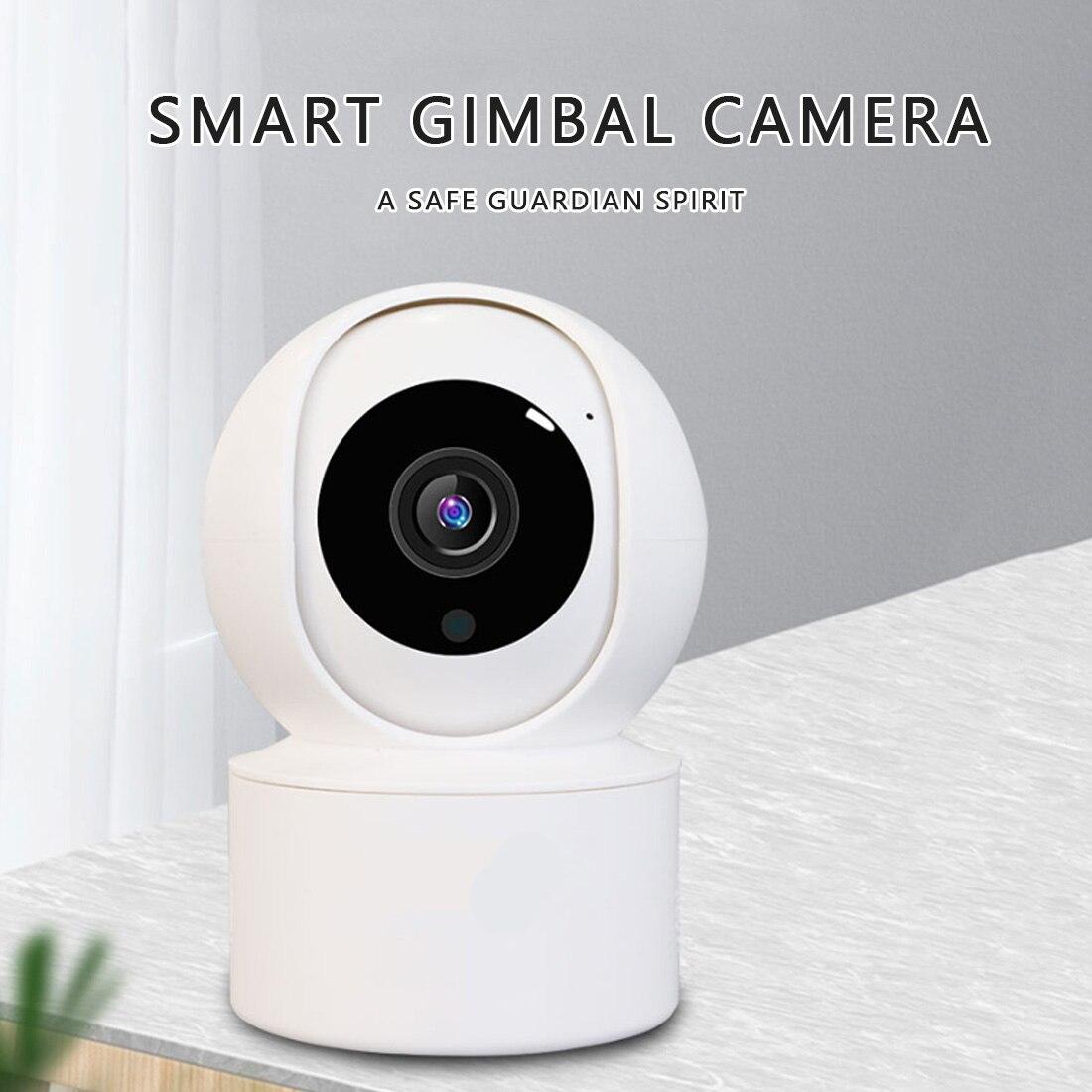 Smart Camera Webcam 1080P WiFi Night Vision 360 Angle Video IP Cam Baby Security Monitor Pet Camera