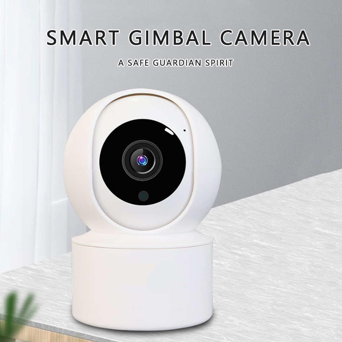Smart Camera Webcam 1080P WiFi Night Vision 360 Angle Video IP Cam Baby Security Monitor Pet Camera image