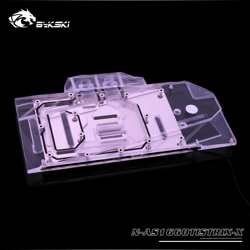 Bykski A-SP5700XT-X GPU Water Cooling Block for Sapphire Pulse RX 5700XT / MSI EVOKE MECH