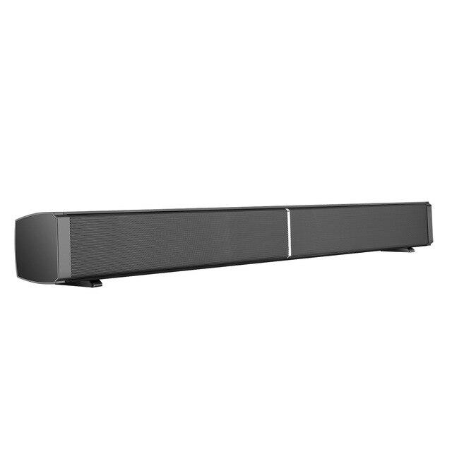 lp09s wireless bluetooth 5 0 speaker portable strong bass soundbar home theater wall mounted sound bar for tv computer phone