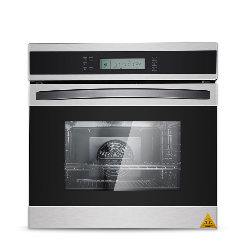 K90 Embedded Electric Oven Home Intelligent Multi-function LCD Touch Type 58 Liters Stainless Steel  Large Capacity Safe Power
