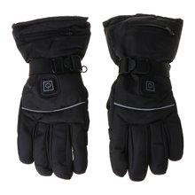 Мужские и женские зимние перчатки с электрическим подогревом