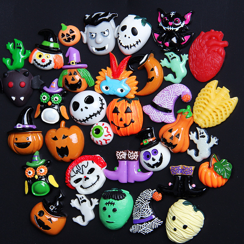 Slime charms New Halloween Animal Addition Slime Filler for Slime Polymer Addition Slime Accessories Toy Model Tool for Kids Toys 3