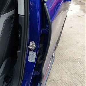 Image 5 - רכב דלת חותם רצועת גומי רכב דלת צד איטום Weatherstrip אוטומטי עמיד למים רעש בידוד איטום הגנת רכב אבזר
