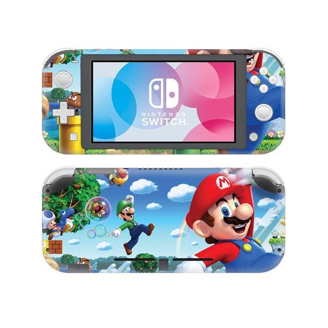 Super Mario Skin Sticker Decal For Nintendo Switch Lite Console Controller Protector Joy Con Switch Lite Skin Sticker Consoleskins Co
