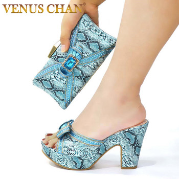 Sexy Style Nigerian Shoe and Bag Set 2020 Fashion African Party Shoes and Bag Shoes with Matching Bags Party Shoes in Fuchsia 7