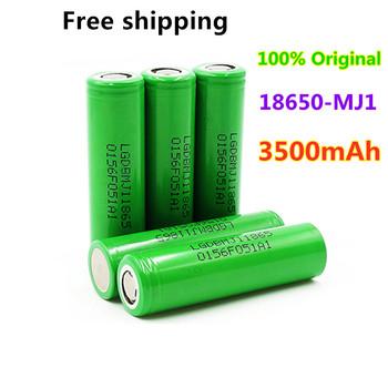 10 sztuk 100 oryginalny MJ1 3 7 v 3500mAh 18650 akumulator litowy do baterii latarki do LG MJ1 3500mAh baterii tanie i dobre opinie fijila 18650-MJ1 3500MAH Li-ion Rohs 3001-3500 mAh CN (pochodzenie) Tylko baterie Pakiet 1