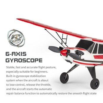 W01 2.4G 3CH Electric RC EPP Glider Airplane Six-axis Gyroscope RTF Right Hand Throttle With Transmitter Gifts For Beginners 1
