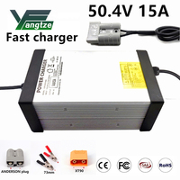Yangtze Lithium Battery Charger 50.4V 15A 14A 13A 12A  For 12S 44.4V Li-Ion Lipo Battery Pack