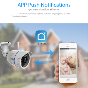 Image 5 - 720P IP Camera Wireless Wifi network Surveillance Camera Outdoor Waterproof Compatible with Alexa Echo Show and Google Home
