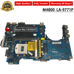 CN-07VMPC 07VMPC 7VMPC M4800 carte mère DDR3 hm86 VAQ1 LA-9771p Pour DELL Precision M4800 Carte Mère D'ordinateur Portable