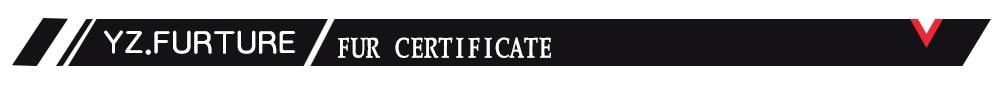 3 Fur Certificate