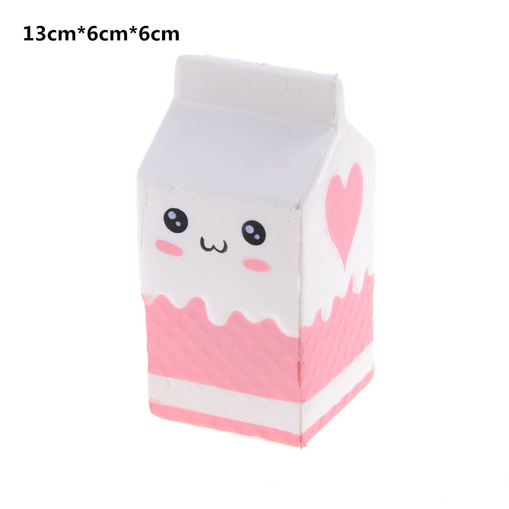 Antistress Ball Milk Bottle Peach Unicorn Sheep Bear Squeeze Squishy Toys Slow Rising Stretchy Animal Healing Fun Stress Toys