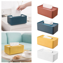 Plastic Tissue Box Wet Tissue Holder Baby Wipes Paper Storage Box Paper Towel Dispenser Home Napkin Organizer