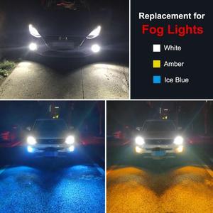 Image 5 - 1 adet H7 Led ampul süper parlak CSP cips 1800LM otomatik araba sis sürüş işık lamba ampulü araba sis sürüş işık lamba ampulü 12V 6000K