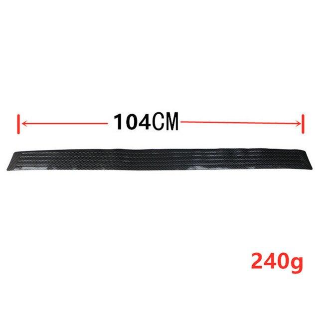 90/104 см автомобильный бампер из углеродного волокна для багажника фотография