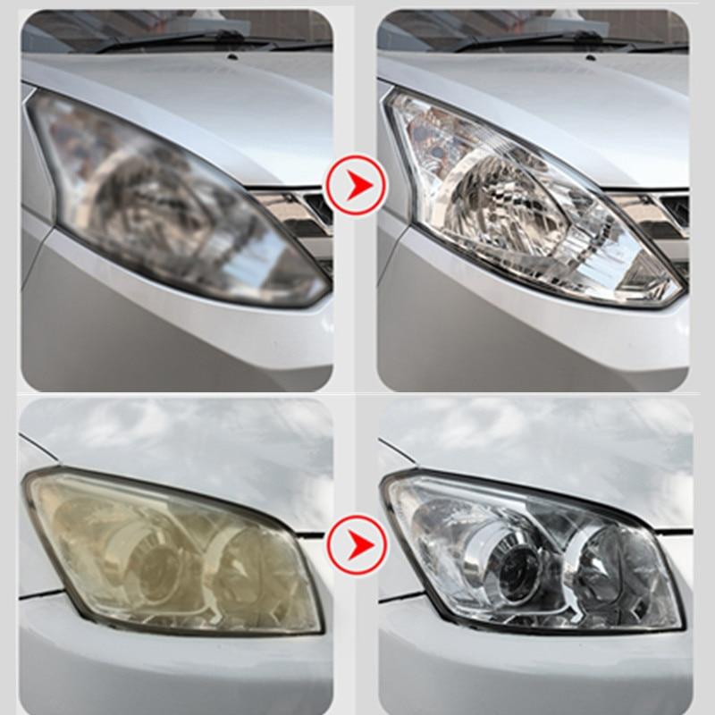 Car Lights Kit Polishing Restoration Car Headlights Repair Set For Restorers