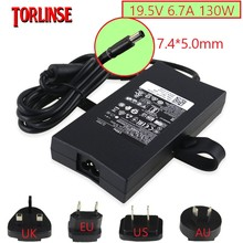 130W Power Supply 19.5V 6.7A 7.4*5.0mm Laptop Adapter for Dell XPS 15 Gen 2 M1210 M1710 9530 L501X L502x K5294 d232h 17R Charger