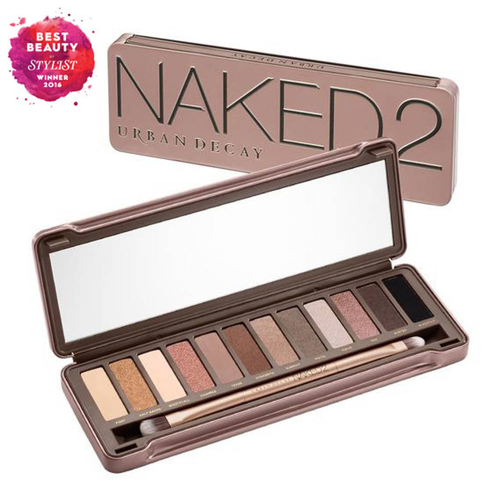 Urban Decay NAKED 2 Eyeshadow Palette 12 Colors Makeup Pigments Waterproof Professional Shimmer Eye Shadow Make Up Palette