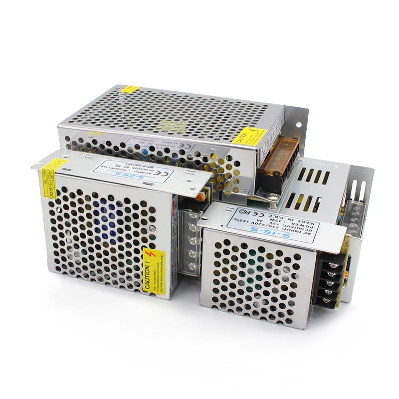 5V 12V 24V 36V Power Supply SMPS 1A 2A 3A 5A 10A 20A 30A 5 12 24 36 V AC-DC 220V TO 5V 12V 24V 36V Switching Power Supply SMPS 12V 6A