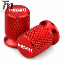 CNC Aluminum Tyre Valve Air Port Cover Stem Cap Motorcycle Accessories for Ducati Panigale 899 959 1299 1199 S R G V4 KN(China)
