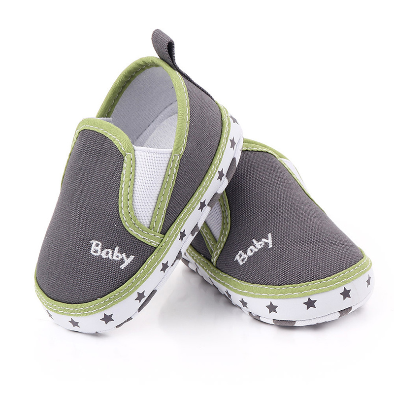 Toddler Newborn Canvas Baby Shoes First Walkers Casual Baby Boys Girls Shoes 0-18 Months