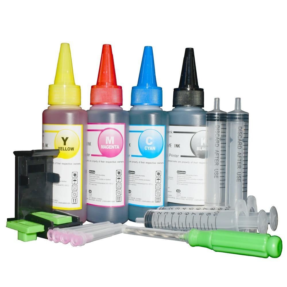Printer Ink For Canon MG4150 MG4250 Pixma MX375 394 MX395 MX525 MX435 455 MX475 MX535 PG540 XL PG 541 XL Ink Cartridge