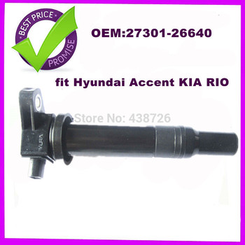 OEM  27301-26640 2730126640   FOR Hyundai Accent For  KIA RIO  Ignition Coil PACK  BRAND NEW