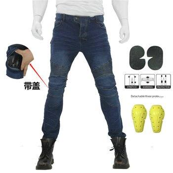 Nouveau KOMINE pantalons de Moto hommes Moto Jeans équipement de protection équitation Touring pantalons de Moto Motocross pantalons Pantalon Moto