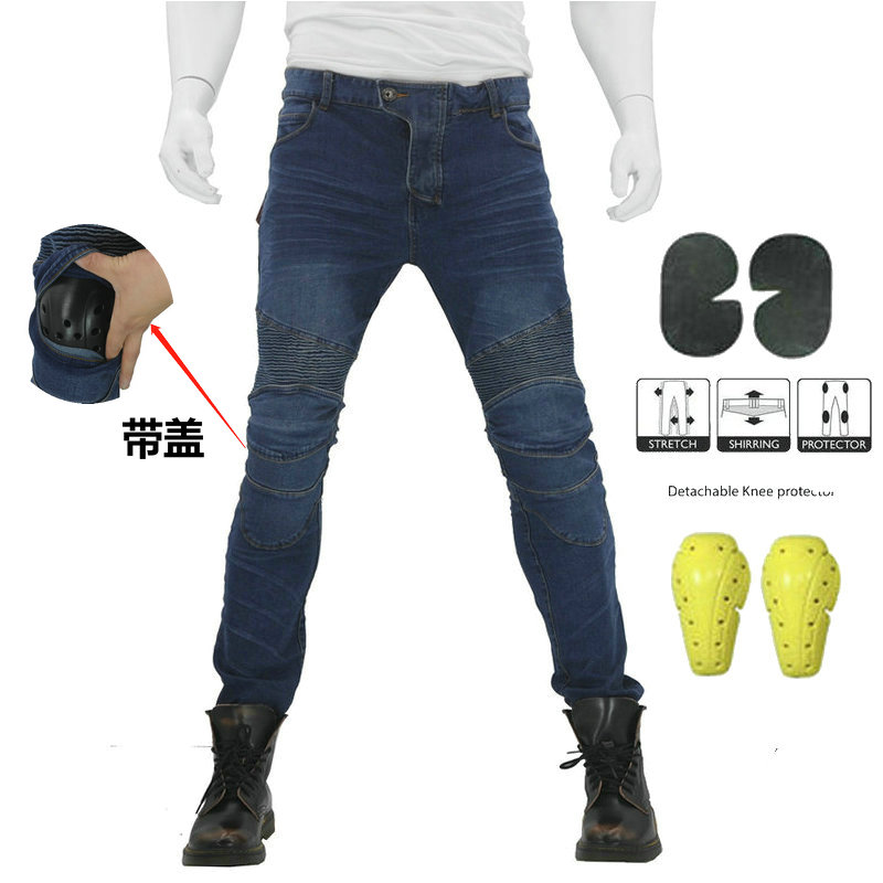 Moto Pants Motorcycle Pants Men Moto Jeans Protective Gear Riding Touring Motorbike Trousers Motocross Pants Pantalon Moto Pants