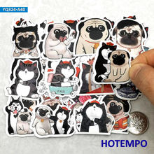 Diary Stickers Scrapbook Mobile-Phone Anime Stationery Laptop Dog-Lord Cartoon 40pcs