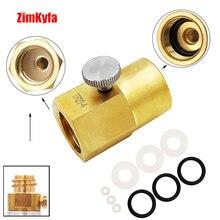 SodaStream CO2 карбонатор баллон канистра заправка адаптер заправка зарядка адаптер с контактом +% 26 W21.8-14 или CGA320 разъем