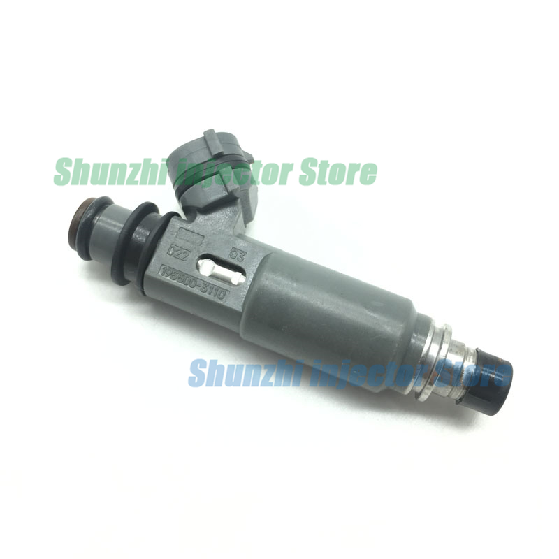 Fuel Injector Nozzle For Mazda Protege 1997-1998 1.5L 1999-2001 1.6L <font><b>195500</b></font>-<font><b>3110</b></font> 1955003110 <font><b>195500</b></font> <font><b>3110</b></font> image