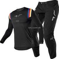 Naughty FOX MX ATV 360 Flex Air Black Jersey Pant for Motocross MX SX Off-Road Dirt Bike Racing Gear Combo