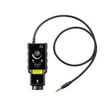 Saramonic SmartRig XLR Mikrofon Vorverstärker Audio Adapter Mixer Preamp & Gitarre Interface für DSLR Kamera iPhone 7 7s 6 iPad