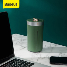 Baseus Humidifier For Car Home Office Travel Mini Ultrasonic Mist Maker Fogger with Night Lamp Portable 420ml Air Humidificador