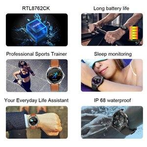 Image 3 - Senbono 2020新IP68防水スマートウォッチ心拍数血圧モニター天気スマートウォッチファッションフィットネストラッカー時計