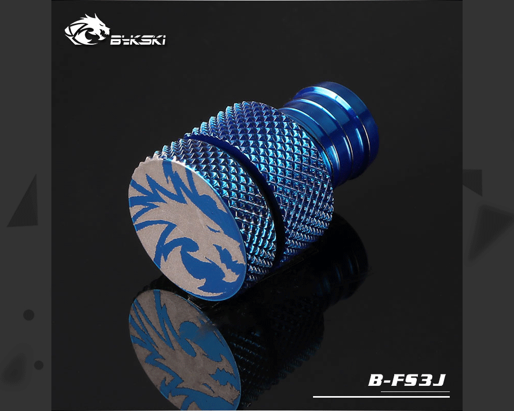 Bykski B-FS3J, For 10x13/10x16 Soft Tube Drain Fittings, Used For Water System Bottom To Drain Coolant