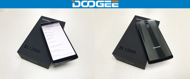 DOOGEE BL12000 Smartphone 12000mAh Fast charge 6.0'' 18:9 FHD Display MTK6750T Octa Core 4GB 32GB 16MP Camera Android 7.1 Phones 39
