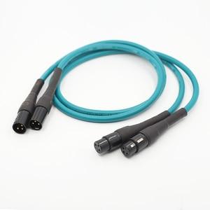 Paire Audio Cardas croix équilibré Hifi XLR câble d'interconnexion 1.5m câble XLR