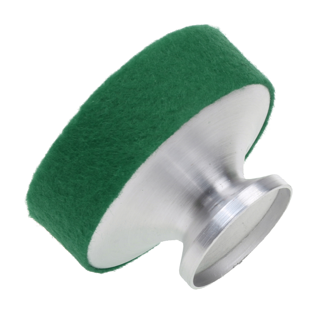Aluminum Soprano Saxophone Mute Sax Sound Dampener Parts Accessory Green New
