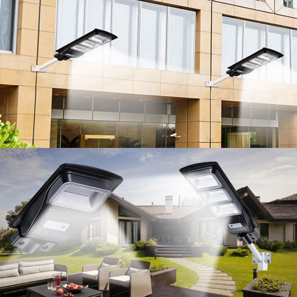 LED Solar Straßenlaterne 60W 40W 20W Radar Bewegungsmelder Outdoor Wasserdichte Solar Wandlampe Flutlicht für Garden Yard Street